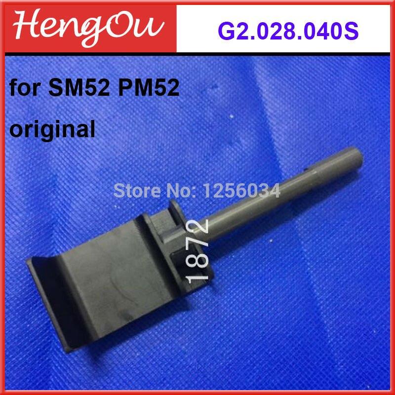 1 piece free shipping Heidelberg machine SM52 PM52 parts Original new feeder pressure sheet G2.028.040S<br>