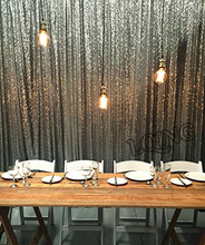 20FTx10FT Silver/Gold Shimmer Sequin Backdrop,Sequin Curtains,WeddingPhoto Booth Props,Glitter DIY Party Wedding Decorations