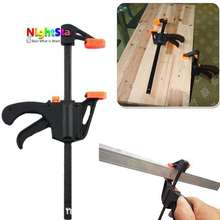 4 inch F woodworking Clamp Clip Heavy Duty Wood Carpenter Tool Clamp /Color Random