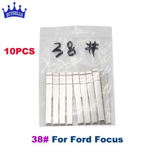 10pcs/lot, Remotes Flip Blade 38# for KD Remote, HU101 blade for Ford Focus Mondeo CMAX FIESTA GALAXY(China)
