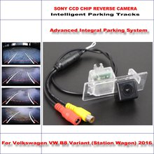 Car Reverse Back Up Camera For Skoda Superb Derivative 2013~2016 / Parking Rear view Camera / Dynamic Guidance Tragectory