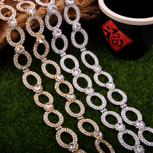 Free Shipping 5 yards Crystal Rhinestone Trim, Rhinestone Applique, Wedding Applique,Rhinestone Chain MALI066