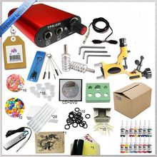 Professional completely mini tattoo machine kit, high quality tattoo power supply set.