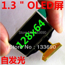 1.3 inch OLED Display 128x64 Resolution Blue on black SPI Parallel and IIC Interface Driver IC SH1106 30PINS NEW