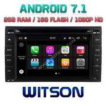 WITSON S190 Android 7.1 quad core Car Dvd Navi Player For NISSAN QASHQAI/PALADIN 2G ROM External Microphone+ DAB +WIFI+OBD+DVB-T(China)