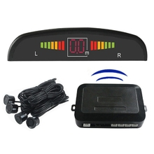 Hot Selling -30 ~ +80 Degrees Centigrade Drill Wireless Car Parking Sensors ABS PZ300 LED Car Electronics Reversing Radar