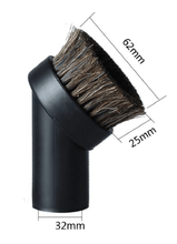 "Round Vacuum Cleaner Attachment Dusting Brush Tool Replacement 1.25"" 1-1/4"" 32mm(China)"