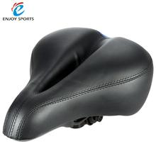 High Quality MTB Cushion Hollow Cycling Saddle Soft Silicone Wide Bicycle Bike Saddle Seat Cycling Saddle Asiento Bicicleta(China)