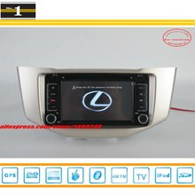 For LEXUS RX330 RX 330 - Car Radio Stereo DVD Player GPS Navigation System / Radio TV BT iPod AUX USB SD 3G WIFI S100 System