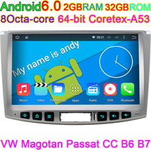 For VW Tiguan and Passat CC 2012 2013 2014 2015 Android 6.0 Octa Core Car DVD Computer HD 1024*600Pixels with Canbus In Dash PC