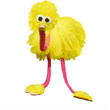 Wooden puppet doll toy Marionette Doll Muppets Animal muppet hand puppets toys wool rope ostrich Birl Marionette doll for kids