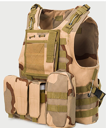 Camping & Hiking Live Cs Field Guard Vest Army Tactical Vest And Pack Wear Resistant Anti-piercing Equipment A4306 Climbing Bags
