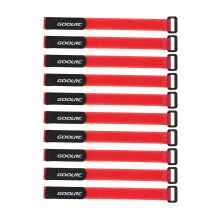 10Pcs GoolRC Strong RC Battery Antiskid Straps Battery Bands 285mm for RC Drone Helicopter and RC Car