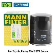 MANNFILTER car Oil Filter W610/9 for Toyota Camry Mix RAV4 Previa auto part(China)