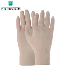 100 Latex Gloves Working Gloves Safety Medical Laboratory Food Operation Clean Dishes Housework Waterproof Rubber Safety Gloves