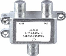 2 Way Splitter Satellite Multiswich ANT/SAT Signal mixer digital satellite TV-SAT combiners diplexers VHF-UHF