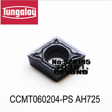 CCMT060204-PS/CCMT060204-PSS/CCMT060208-PS/CCMT060208-PSS AH725,original tungaloy carbide insert for cnc
