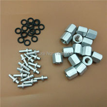 Large format solvent printer spare parts for Seiko 510 print head ink damper connector 10 sets/lot