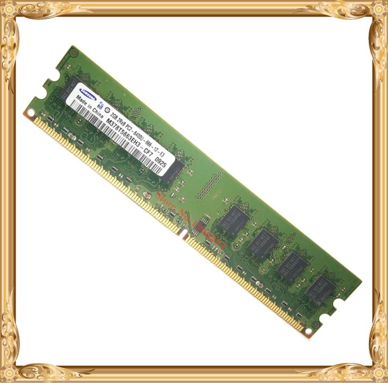 Desktop memory For Samsung 2GB 800MHz PC2-6400U DDR2 PC RAM 800 6400 4G 240-pin Free shipping<br><br>Aliexpress