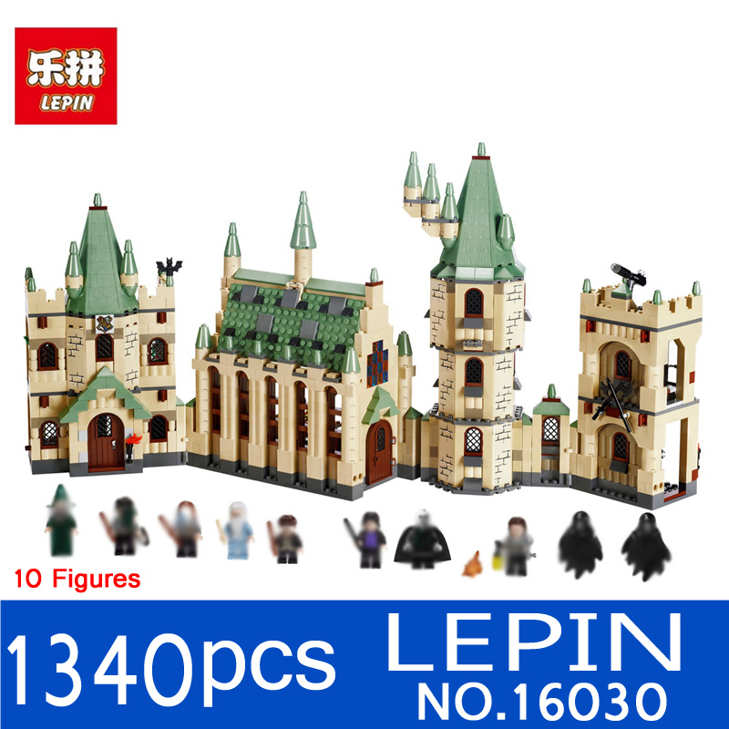 Lepin 16030 1340pcs Movie Series Harry Potter Hogwarts Castle Building Blocks Bricks Kits Compatible 4842 Toys Children Gifts<br>