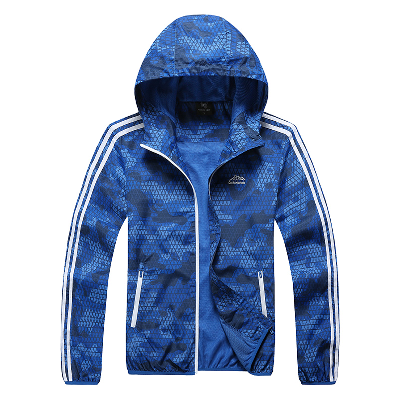 Running Jacket Men 2016 Brand New Windproof Quick Drying Dot Printing Design Hoody Outdoors Sports Jogger Jogging Coat<br><br>Aliexpress