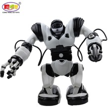 2017 Hot Sales TT313 President Robot Intelligent Remote Control Programming Smart Robots Toys Launching sing Dancing boy toys(China)