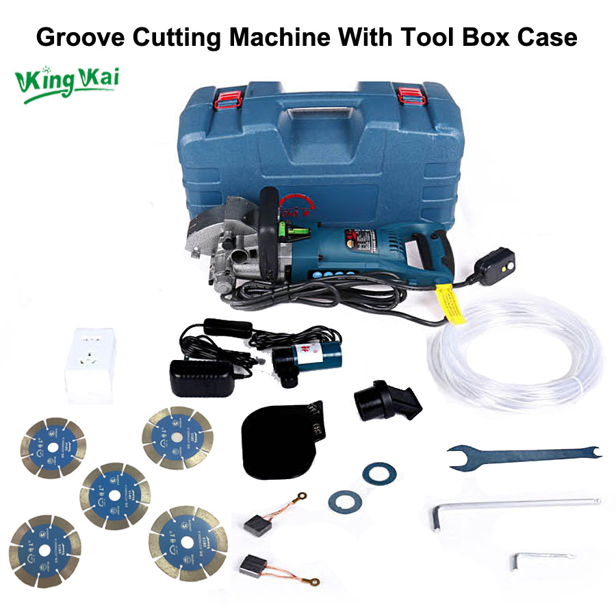 121mm Blade Wall Groove Cutting Chasing Machine-1 (11)