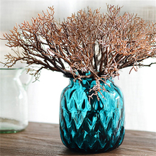 Beautiful Artificial Plastic Plant New Type 1pcs  Dried Branch Plant 2 Colors for Home Wedding Decoration