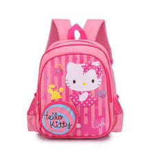 2018 hello kitty School Bag hello kitty Kids Bag Children Backpack Kindergarten Backpack/kid School Bags/Satchel for Boys Girls(China)