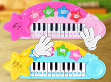 Infants keyboard music early childhood educational male girl baby knock 1 2 3  year old toy piano instrument