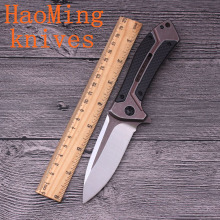 Outdoor Ball Bearing Flip D2 Blades G10 Handle Mini Camping Folding knives Practical Tactical Survival EDC Tools Portable Knife(China)