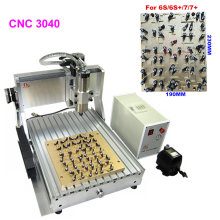 IC CNC 3040 Router Milling Polishing Engraving Machine for iPhone 4 4s 5 5s 5c 6 6+ 6s 6s+ 7 7 plus Chips Main Board Repair(China)