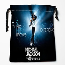 Best Art Michael Jackson 03 Drawstring Bags Custom Storage Printed Receive Bag Compression Type Bags Size 18X22cm Storage Bags
