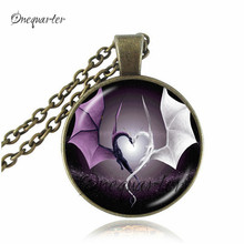 vintage dragon necklace jewelry pterosaur space pendants necklaces huge dinosaur statement necklaces women gifts jewellery(China)