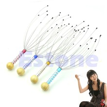 1Pc Practical Comfortable Head Stress Relax Tool Scalp Massager Massage #UY283#(China)
