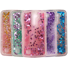 Buy K7&K10 Case Soft TPU Dynamic Liquid Glitter Colorful Paillette Sand Quicksand Cover F LG K7 & LG K10 for $2.78 in AliExpress store