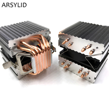 ARSYLID CN-609A CPU cooler 9cm fan 6 heatpipe dual-tower cooling for Intel LGA775 1151 115x 1366 2011 for AMD AM3 AM4 radiator(China)