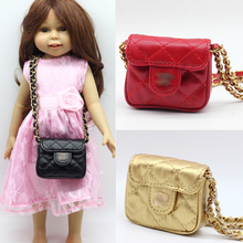 1pcs Red ,Black color single-shoulder bag for 18 Inch American Girl Doll backpack Bag ES019