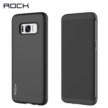 Brand Case For Samsung Galaxy S8 S8 Plus Phone Case Rock Dr.v Full Window View Smart Flip Case for Galaxy S8 / S8 plus(China)