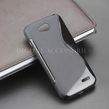 8 Color S Line Gel TPU Slim Soft Anti Skiding Case Back Cover For LG L90 D410 dual sim d405 D415 Mobile Phone silicone Bag(China)