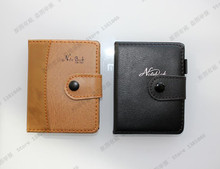 1 x Brown PU Leather Diary Mini Cahier Note Pad Pocketbook Paper Notebook