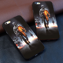 Cool new arrival game Battlefield 3 Graphic Logo Skin for iPhone 6 6 s 6 plus protect cell phone cover