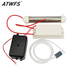 ATWFS Newest Ozone Generator Kit 3000mg/h 220v Air Ozone Water Sterilizer Ozone Generator Air Pump Washing Vegetable Fruit(China)