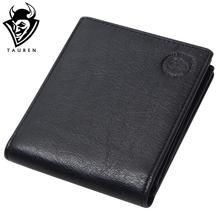 Men's Vintage Wallets 100% Genuine Leather Wallet Black Color For Men Manufacturer Wholesale Price