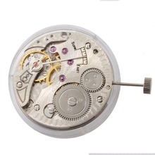 Watch accessories Classic 17 Jewels Asian Hand-winding 6498 Vintage mechanical Movement watches for parts(China)