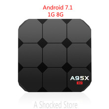 A95X R2 R1 Android 7.1 Smart TV Box 1G 8G RK3288 Quad Core Set Top Box 4K 3D H.265 USB 3.0  PK Nexbox A95x R1 A95x A2 X96 Tv Box