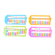 Hot 11 Rods Abacus Soroban Beads Column Kid School Learning Aid Tool Math Business Chinese Traditional abacus Educational toys(China)