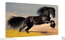 Wild Horses Home Deco Oil Painting HD Print On Canvas Art Decor Wall Art 24X36