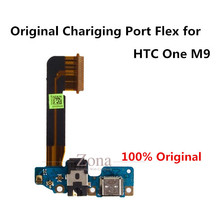 100% Original USB Charging Port Flex Cable Repair Replacement Parts for HTC One M9;Dock Connector Charging Port Flex(China)