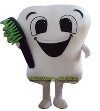 Tooth mascot costume party Dental care character mascot dress&Amusement park outfit()